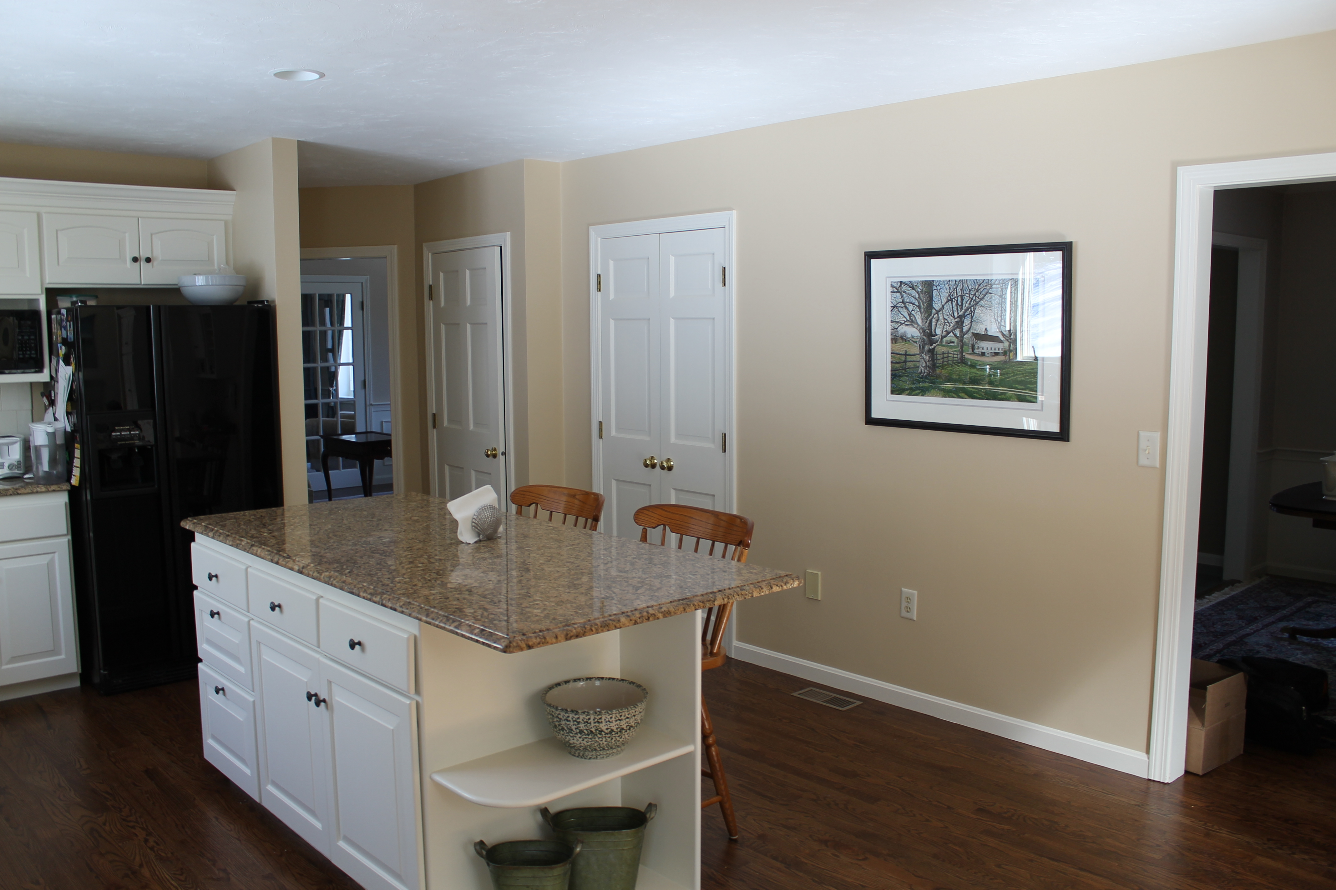 Interior Painting, Wall Paper Removal, Hubley Painting, Kitchen Cabinet Painting